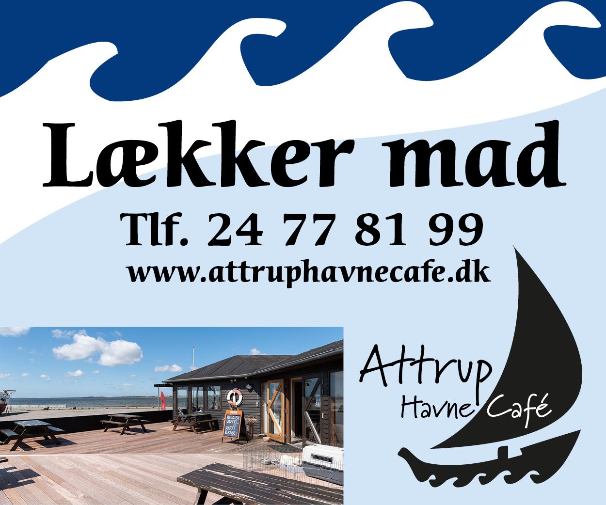 Attrup Havne Café banner 1